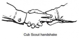 Cub Scout Handshake